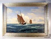 Ölgemälde Segelschiff