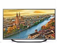 LG 65UF770V Smart 4K Ultra HD 65 Inch TV (2015 Model) [Energy Class A+] - 9 months old