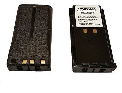 2x Knb-16a Knb-17a Batteries For Kenwood Tk280 Tk380 Tk480 Tk481 Fast Shipping
