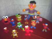 Sesame Street Figures Lot