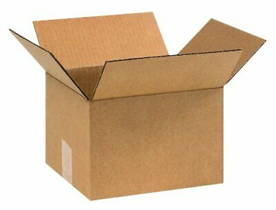 25 Small Cardboard Shipping Boxes - 7 X6 X4