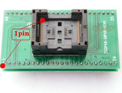 New Tsop48 Tsop 48 To Dip48 Dip 48 Universal Ic Programmer Socket Adapter