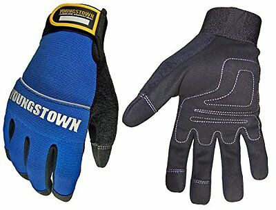 Youngstown Glove 06-3020-60-xxl Mechanics Plus Performance Glove Xxlarge Blue