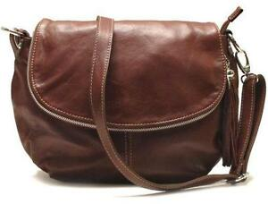 Brown Italian Leather Handbags