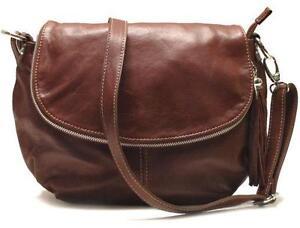Brown Italian Leather Handbags