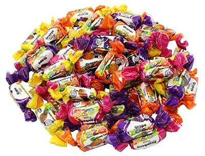 Zaza Assorted Flavors   Colors Fruit Chewy Candy 1Kg  Bulk Pack