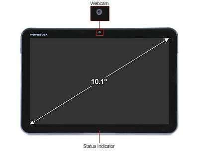 Motorola Xoom 32Gb Wi Fi Black 10 1  Tablet 10Hr Battery Flawless 4 1 2 Free Shi