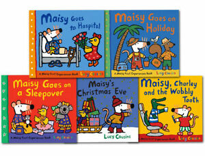 Lucy-Cousins-Maisy-Mouse-Loves-Collection-5-Books-Set-Early-Learners-Children