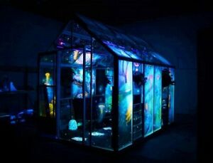 Worlds First Glow In The Dark Greenhouse / Hot Tub Enclosure
