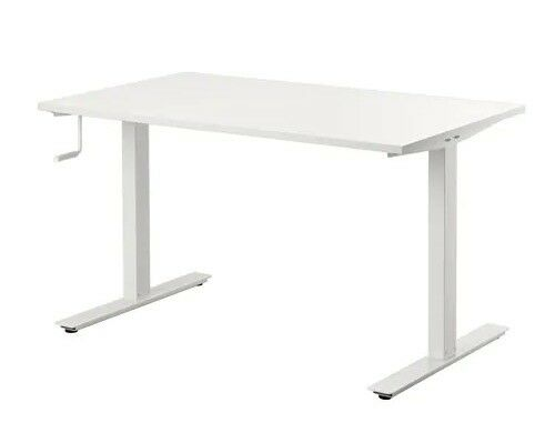 Ten ikea skarsta desk white cm in central london london