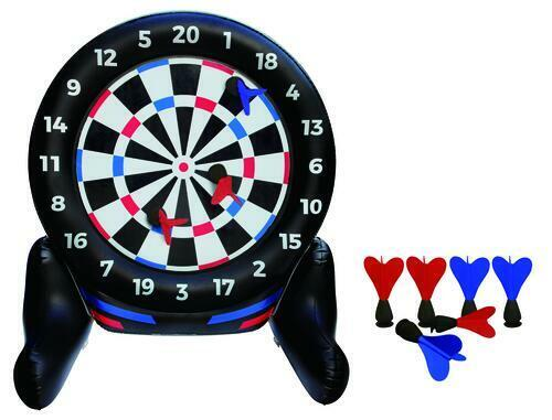 Giant Inflatable Dartboard Yard Party Game Durable Heavy-duty outdoor summer fun