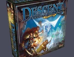 Descent 2nd and 1st Edition (w/ Expansion and Conversion Pack)