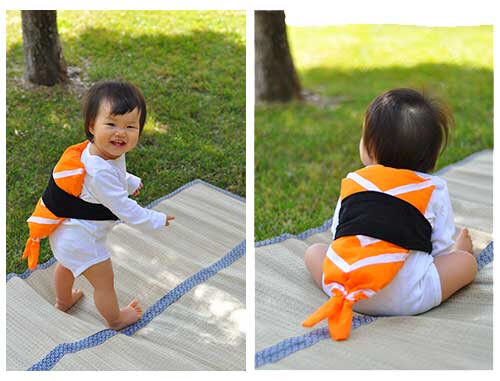 Sushi Costume Baby Kid Party Christmas Halloween Costume Unique Baby Shower Gift