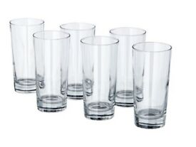 12 x new Ikea glasses perfect for tall drinks (godis)