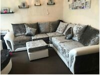 check out SCS couch with FREE FOOTSTOOL