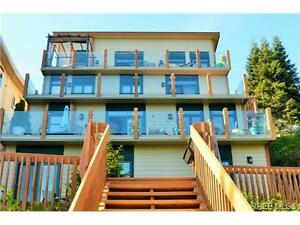 This home is the upper two levels of a 4 Story