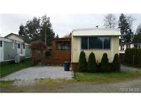 Beautiful Mobile home on Sooke Basin..on or off pad ( SOOKE BC )