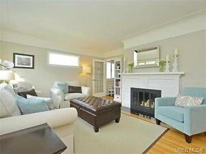 Newly renovated 4BR/2BA in center Oak Bay available on May 1st
