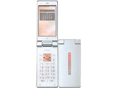 AU KDDI SHARP SHF31 AQUOS K ANDROID FLIP PHONE CELL UNLOCKED WHITE NEW 007SH