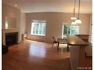 Large windows provides lots of light in living room