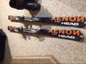 Selling skis and boots