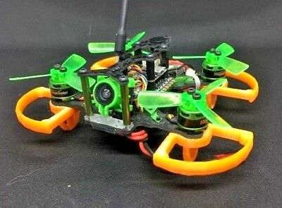 Mantis85 prop guard & landing gear bumper tiny whoop lizard95 micro drone 3d fpv