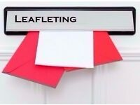 I am a Door to Door Leafleter looking for work delivering leaflets-Croydon,Sutton surrounding areas