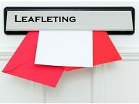 *** LEAFLETERS WANTED*** SHEFFIELD & CHESTERFIELD