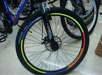 "Bicycle Reflective Wheel Rim Sticker Tape for 10""~28""bike x 6pcs"