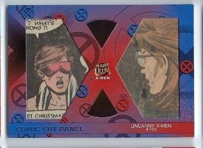 2018 Fleer Ultra X-men comic cut panel DC-UX199 31/54 X-men 199