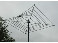 7 BAND COBWEB HF ANTENNA FROM 4 TO 20 METERS