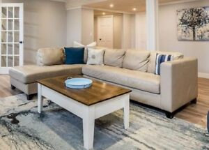 Palliser sectional Couch