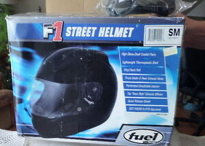 NEW STILL IN BOX1 FUEL F1 SMALL HELMET NEW $100 4 SLEDS OR ATV'S
