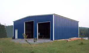 PRE-ENGINEERED C-CHANNEL/GALVANIZED BUILDINGS. COMPLETE D.I.Y