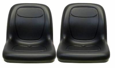 Arctic Cat Prowler Pair (2) Black Seats Replaces OEM# 1506-925