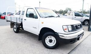 2000 Nissan Navara D22 DX AUTOMATIC (4x2) White 4 Speed Automatic Underwood Logan Area Preview