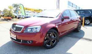 2007 Holden Statesman WM Maroon 6 Speed Sports Automatic Sedan