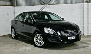 2013 Volvo S60 F Series MY13 T5 PwrShift Black 6 Speed Sports Automatic Dual Clutch Sedan Thomastown Whittlesea Area Preview