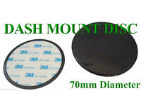 70MM DASHBOARD GADGET MOUNTING DISC