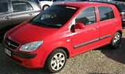 2010 Hyundai Getz TB MY09 S Red 4 Speed Automatic Hatchback Bungalow Cairns City Preview