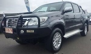 2013 Toyota Hilux KUN26R MY12 SR5 Double Cab Grey 4 Speed Automatic Utility Berrimah Darwin City Preview