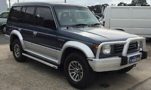 """1991 Mitsubishi Pajero NH GLS """"SOLD"""" 7 SEATS BACKPACKERS SPECIAL WITHBUY BACK OPTION Blue 5 Speed Underwood Logan Area Preview"""