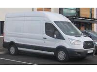 Van with Man