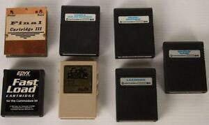 Lot de jeux Commodore 64 Rares (A035606)