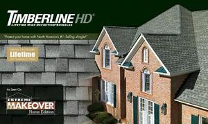 Timberline?? High Definition?? shingles - Various Colors