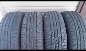 265/70/17 GOODYEAR SET OF 4 $400.00 (NPG50142B) MIDLAND ON.