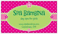 SPA BAMBINA - Mini spa services & spa parties !