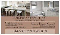 Ménage Résidentiel RIVE-NORD/LAVAL Appartement-Condo-Maison