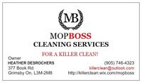 MOP BOSS CLEANING SERVICES