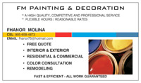 FREE ESTIMATE- AFFORDABLE PRICES- GREAT QUALITY